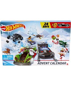 Hot Wheels Advent Kalender
