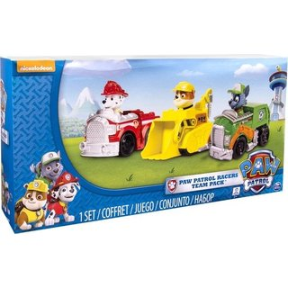 PAW Patrol Reddings Voertuigen Marshall, Rubble en Rocky