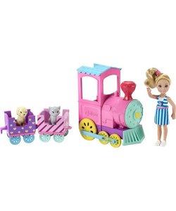 Barbie Chelsea met Trein - Barbiepop