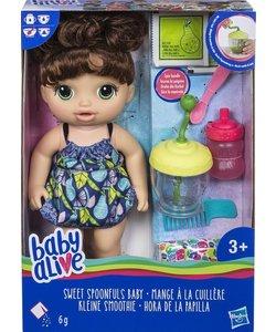 Baby Alive Sweet Spoonfuls Baby Brunette
