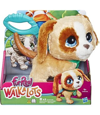 FurReal Walkalots Big Wags Hond - Interactieve Knuffel