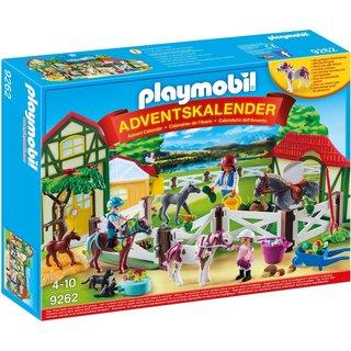 PLAYMOBIL Adventskalender Paardrijclub - 9262