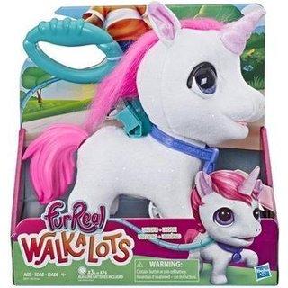 FurReal WalkALots Big Wags Unicorn - Interactieve Knuffel