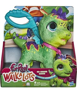 FurReal WalkALots Big Wags Dino - Interactieve Knuffel