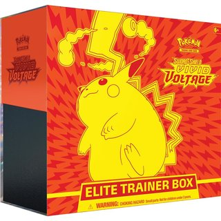 Pokémon Sword & Shield Vivid Voltage Elite Trainer