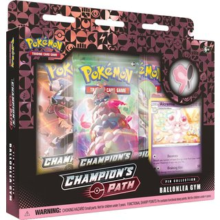 Pokémon Champions Path November Pin Collection