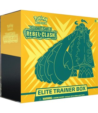 Pokémon Sword & Shield Rebel Clash Elite Trainer