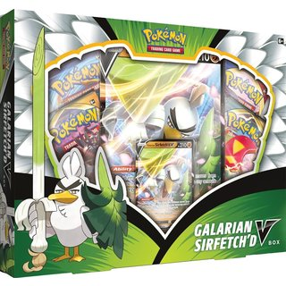 Pokémon Galarian Sirfetch'd V Box