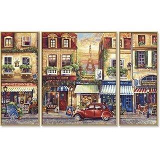 Schilderen op nummer - Paris Nostalgie
