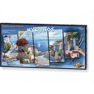 Schilderen op Nummer - Mykonos