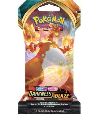 Pokémon Sword & Shield Darkness Ablaze Sleeved Booster - Pokémon Kaarten