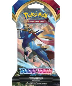 Pokémon Sword & Shield Sleeved Booster - Pokémon Kaarten