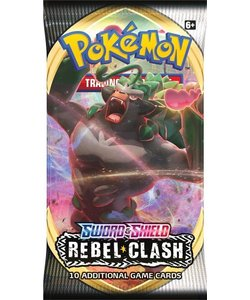 Pokémon Sword & Shield Rebel Clash Booster - Pokémon Kaarten