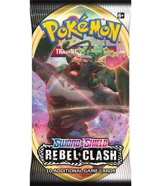 Pokémon Sword & Shield Rebel Clash Booster - Pokémon Kaarten
