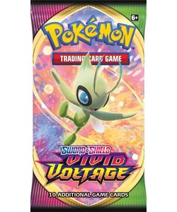 Pokémon TCG Sword & Shield Vivid Voltage Booster
