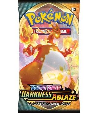 Pokémon Sword & Shield Darkness Ablaze Boosterpack