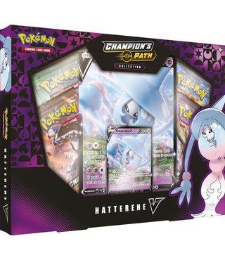 Pokémon Champion's Path Collection Hatterene V Box