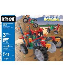 K'NEX 4 Wheel Drive Demolition Truck - Bouwset