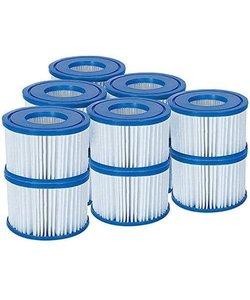 Bestway Voordeelpack - Filters voor de Bestway Spa Type VI 12 stuks (Opblaas Jacuzzi 6 x 2 pack)