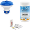 Phoof  Zwembadonderhoud Bundelpakket Comfortpool Zwembad test strips PH waarde en Chloor - 3 in 1 - 50 strips - Watertester -