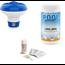 Zwembadonderhoud Bundelpakket Comfortpool Zwembad test strips PH waarde en Chloor - 3 in 1 - 50 strips - Watertester - Teststrips & Poolpower long (mini) - 20 grams chloortabletten
