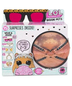 L.O.L. Surprise Eye Spy Biggie Pets MC Hammy - hamster