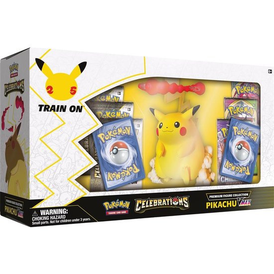 Pikachu VMAX Figure Collection