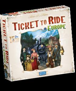 Ticket to Ride Europe 15th Anniversary Nederlands - Bordspel