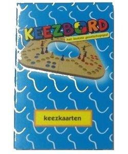 Keezbord Keezkaarten (Rood of Blauw)