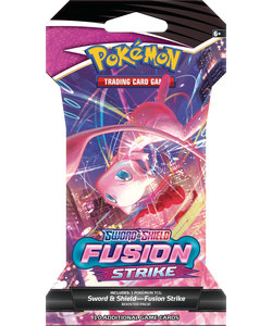 Sword & Shield Fusion Strike Sleeved Booster Pack