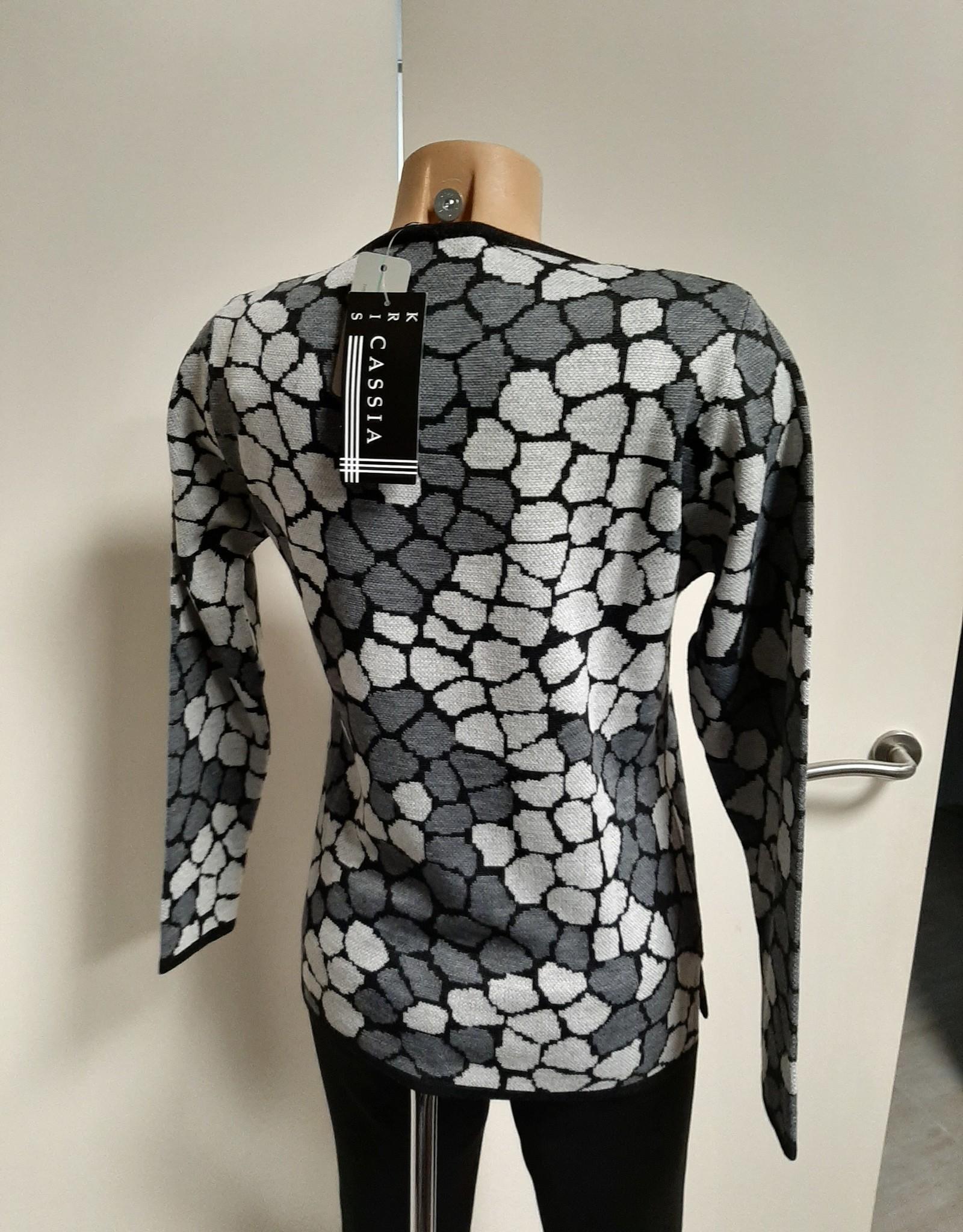 Kris Fashion Pull 681041 Grijs