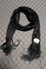 Sjaal zwart fijn