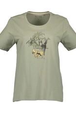 BLUE SEVEN T-shirt 105588 Khaki