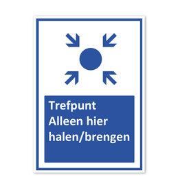 Sticker - Trefpunt - halen/brengen