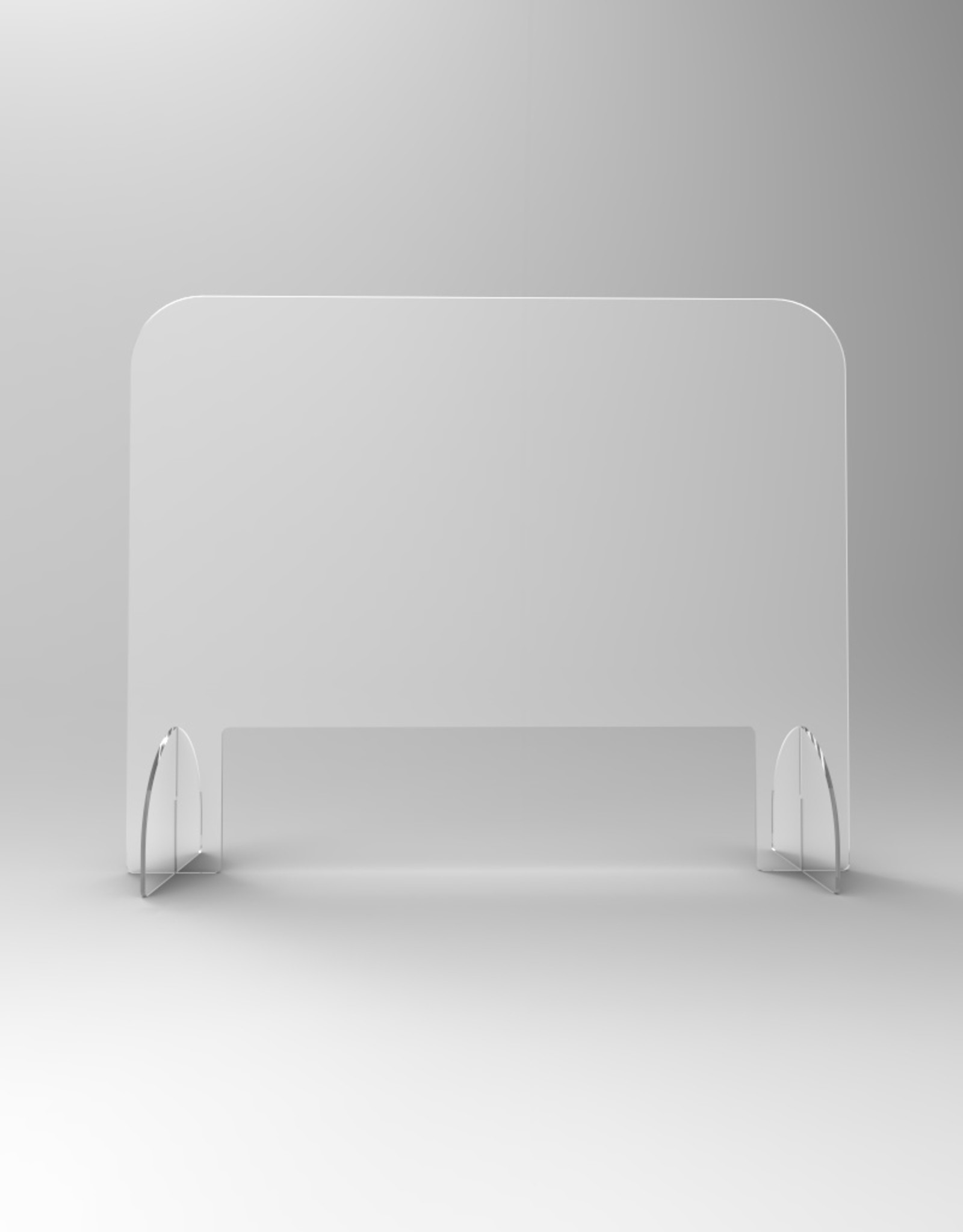 SaveScreen baliescherm glashelder 100x80cm met brede opening