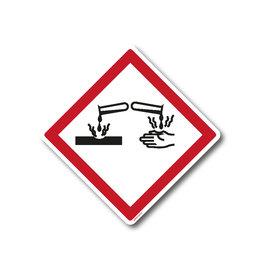 safety-signs.nl GHS05- Bijtend