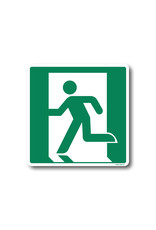 BrouwerSign Pictogram - E001 - Nooduitgang Links - ISO 7010