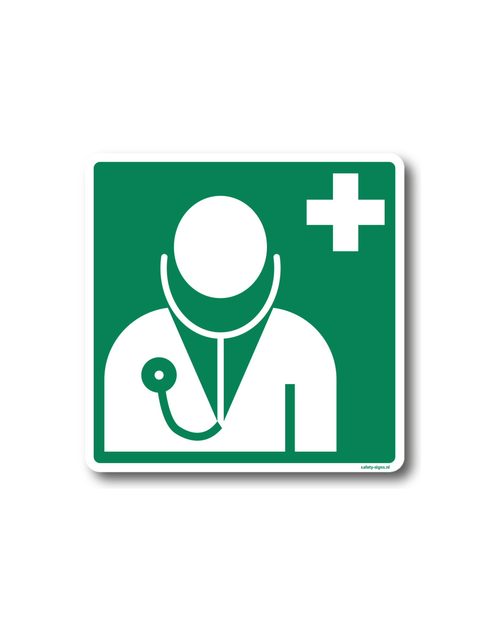 BrouwerSign Pictogram - E009 - Dokter - ISO 7010