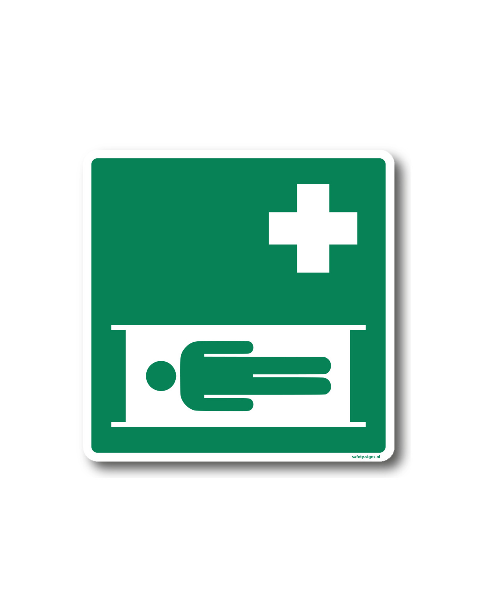 BrouwerSign Pictogram - E013 - Brancard - ISO 7010