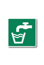 BrouwerSign Pictogram - E015- Drinkwater - ISO 7010