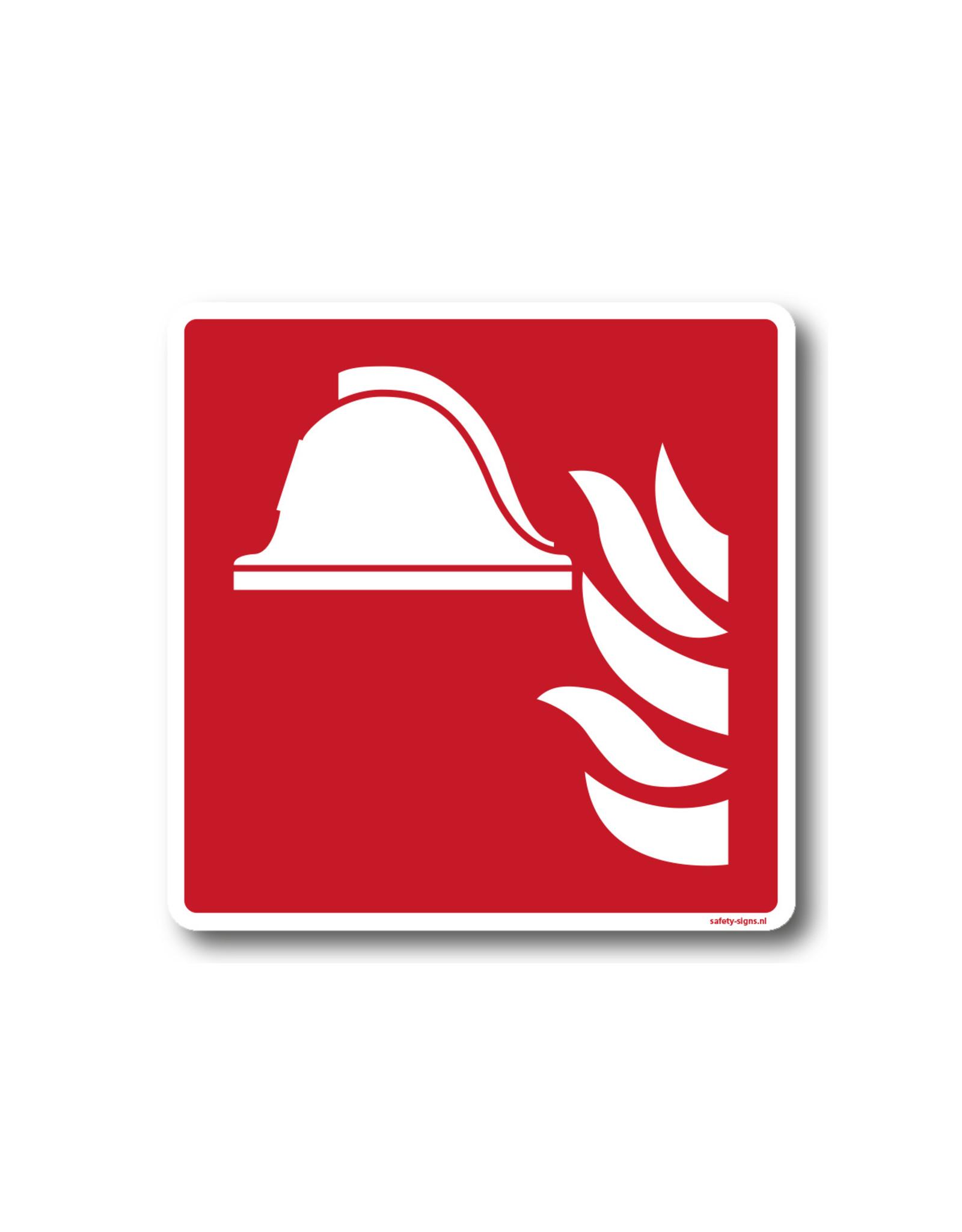 BrouwerSign Pictogram - F004 - Brandbestrijdingsmiddelen - ISO 7010