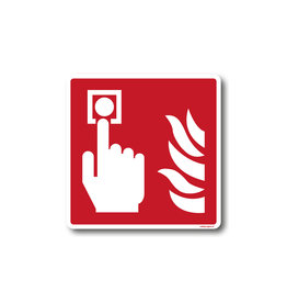 BrouwerSign F005 - Brandmelder
