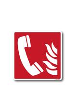 BrouwerSign Pictogram - F006 - Telefoon voor brandalarm - ISO 7010