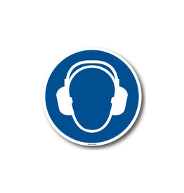 BrouwerSign M003 - Gehoorbescherming verplicht