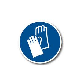 BrouwerSign M009 - Veiligheidshandschoenen verplicht