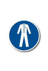 BrouwerSign Pictogram - M010 - Beschermende kleding verplicht - ISO 7010