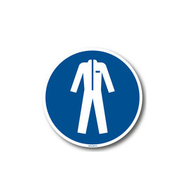 BrouwerSign M010 - Beschermende kleding verplicht