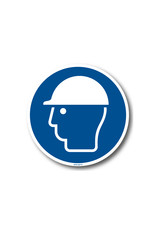 BrouwerSign Pictogram - M014 - Veiligheidshelm verplicht - ISO 7010