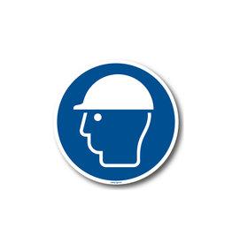 BrouwerSign M014 - Veiligheidshelm verplicht