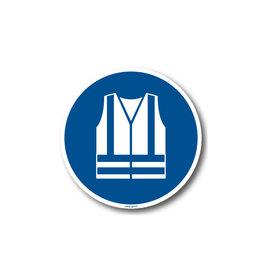 BrouwerSign M015 - Veiligheidsjas met verhoogde zichtbaarheid verplicht
